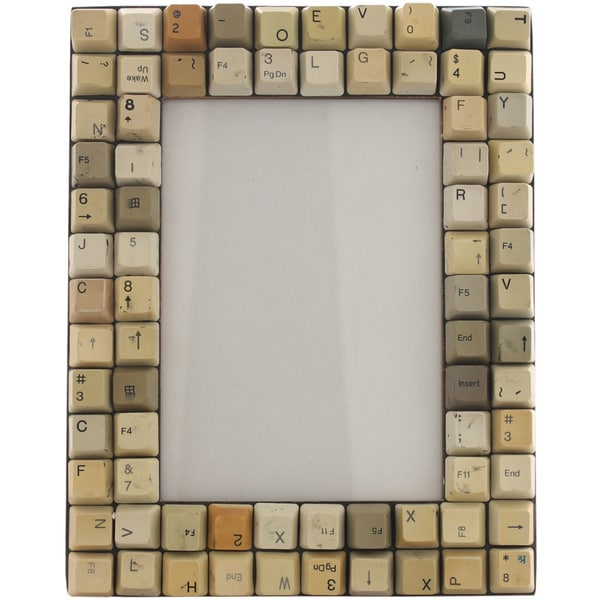 Typo Typewriter Keys Photo Frame