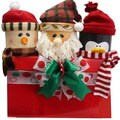 Happy Holiday Trio of Friends Christmas Gourmet Food Gift Basket