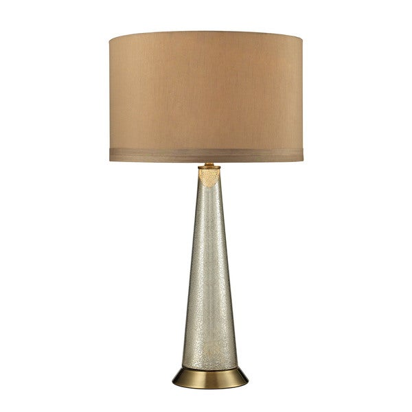 Dimond Middlebury Antique Mercury Glass Aged Brass Table Lamp
