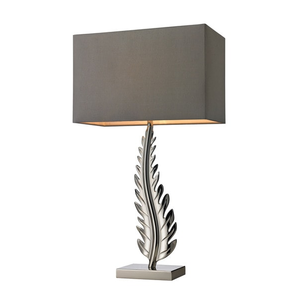 Dimond Oak Cliff Solid Brass Polished Chrome Table Lamp