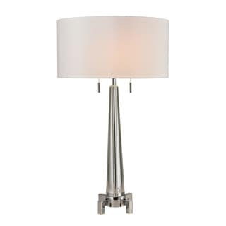 Dimond Bedford Solid Crystal Polished Chrome Table Lamp