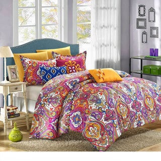 Chic Home Bombay Global Inspired Reversible 6-piece Comforter Set