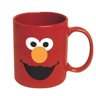 Sesame Street Elmo Loves You 12-ounce Ceramic Coffee Mug