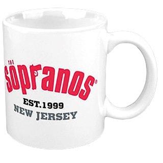 Sopranos Logo 12-ounce Ceramic Coffee Mug