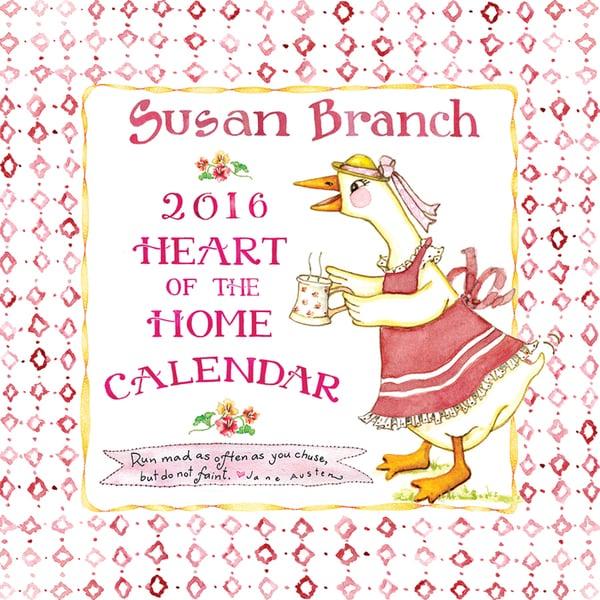 Susan Branch 'Heart of the Home' 2016 Wall Calendar