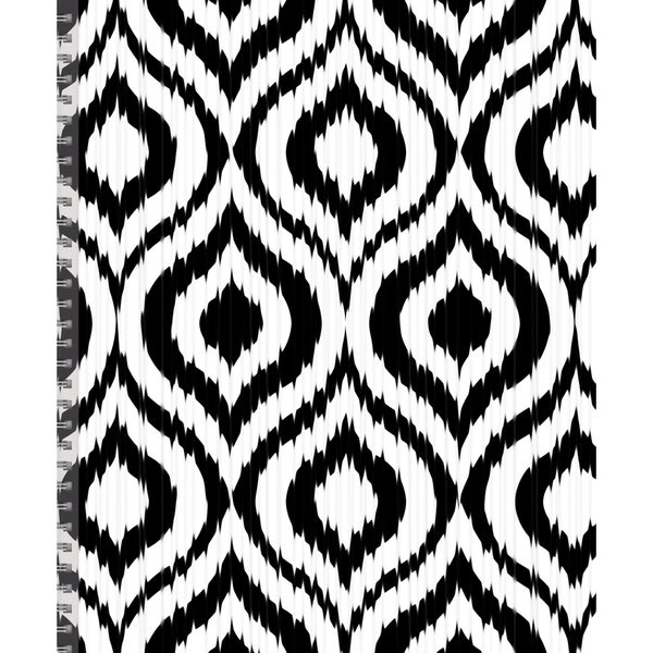 July 2015 - June 2016 Academic Black and White Perfect Planner