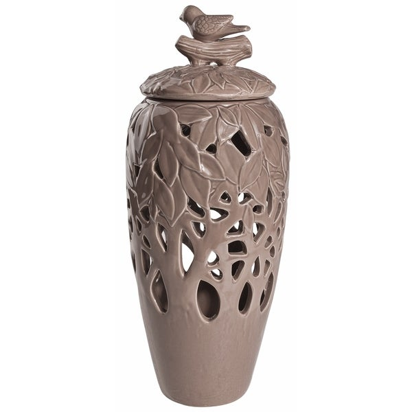 Brown Melinda Decorative Jar