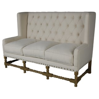 Ivory Wilson Tufted Sofa