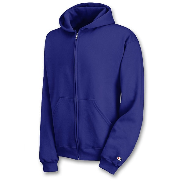 Champion Youth Double Dry Action Fleece Full Zip Hood 15740691