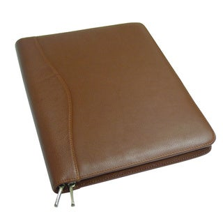 Zip Around Business NAPA Leather Padfolio