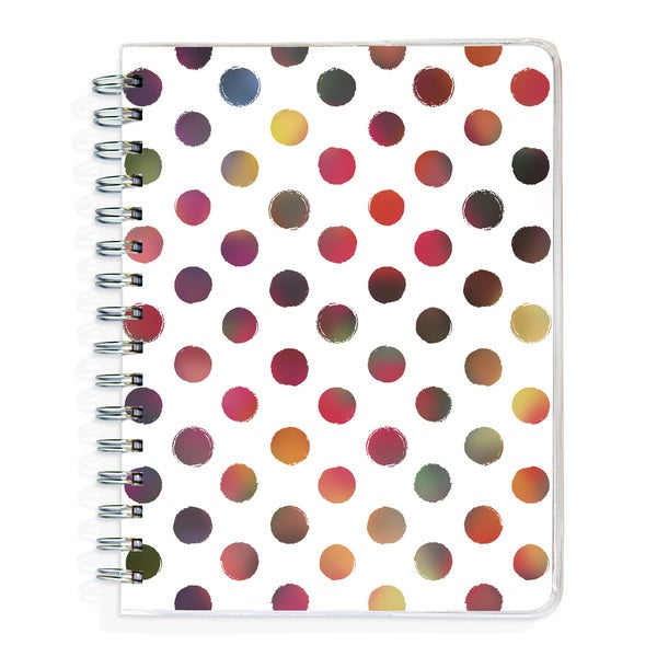 90-page Polka Dot Lined Journal
