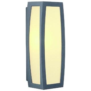 SLV Lighting Meridian Box Outdoor Wall Lamp