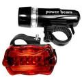 Bicycle Light Set, Headlight and Tail Light