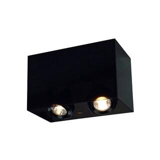 SLV Lighting Acrylic Box Double GU10 Ceiling Lamp