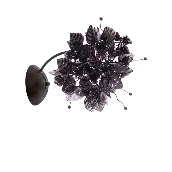 Black Raven Wall Sconce