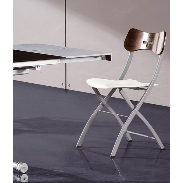 Luca Home Dining Chair Wenge-White
