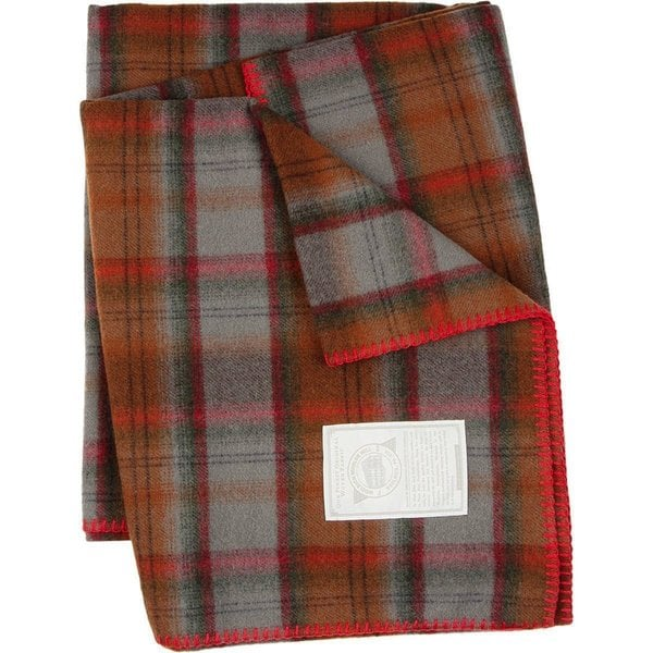 Woolrich Fawn Grove Tobacco Throw