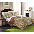 Chic Home Paisley Global Inspired Veleda Reversible 4-piece Quilt Set