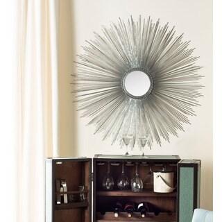 Safavieh Silver Sun Burst Mirror