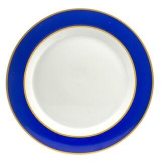 Xena Sapphire Dinner Plates (Set of 4)