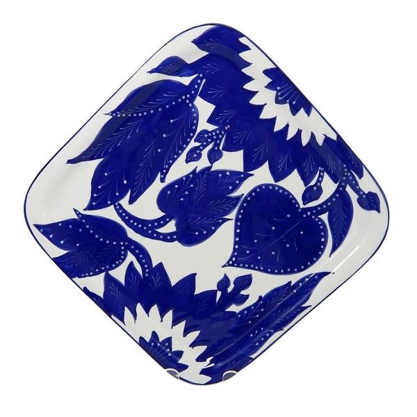Le Souk Ceramique Jinane Design Square Platter