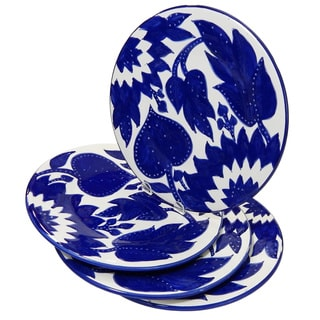 Le Souk Ceramique Jinane Design Dinner Plates (Set of 4)