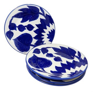 Le Souk Ceramique Jinane Design Side Plates (Set of 4)
