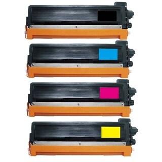 4-pack Replacing Brother TN-221BK 225C 225M 225Y Toner Cartridge