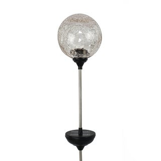 As Seen On TV Solar LED Color Changing Crackled Glass Globe 3-piece Set