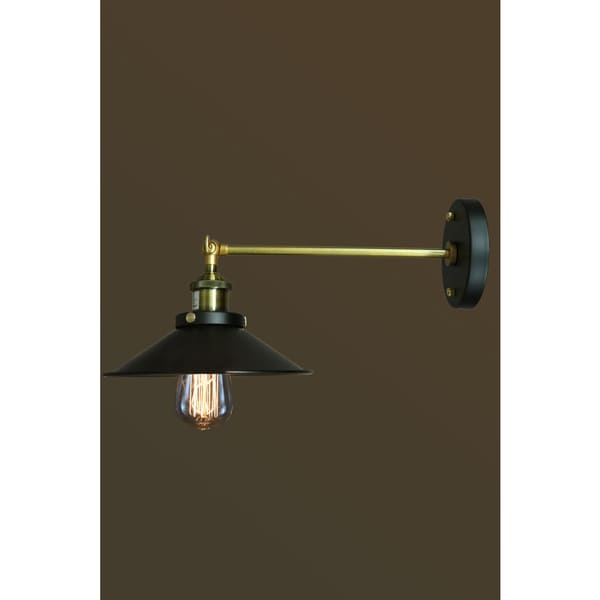 Dorothy 1-light Black Edison Wall Sconce