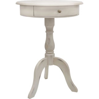 One Drawer Pedestal Table