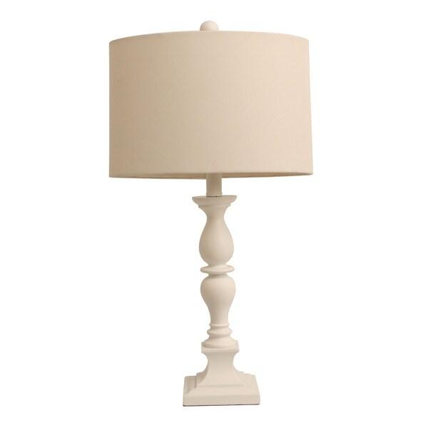 Satin White Table lamp