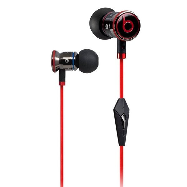 "Beats ""iBeats"" In Ear Headphones with Control Talk - Black/Red"