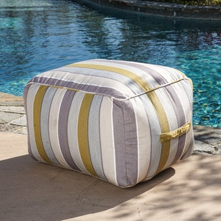 Christopher Knight Home Peyton Outdoor Sunbrella Lounge Beanbag Chair