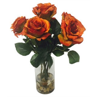 Rose Beauty Silk Floral Arrangement