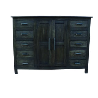 Yosemite Home Decor Black Cabinet