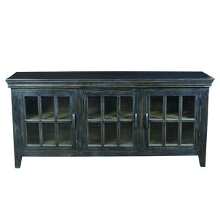 Yosemite Home Decor Black Display Console