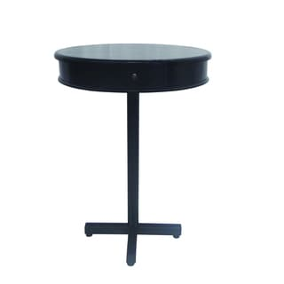 Yosemite Home Decor Black Pub Table