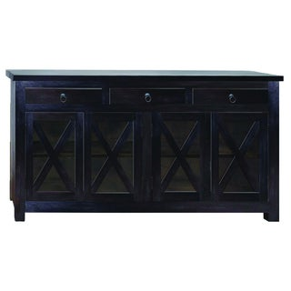 Yosemite Home Decor Black Sideboard