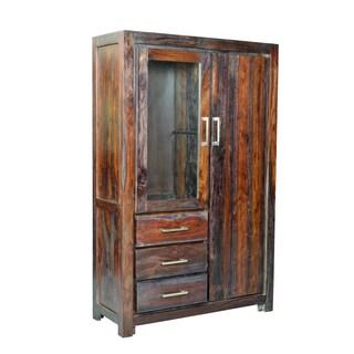 Yosemite Home Decor Wardrobe Cabinet