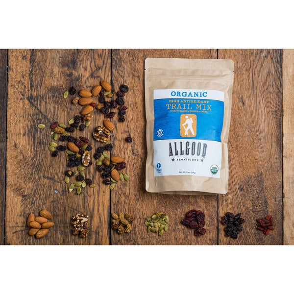 Allgood Provisions Organic High-antioxidant Trail Mix (Pack of 3)
