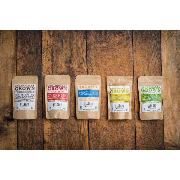 Allgood Provisions Organic Snack Pack (Set of 10)