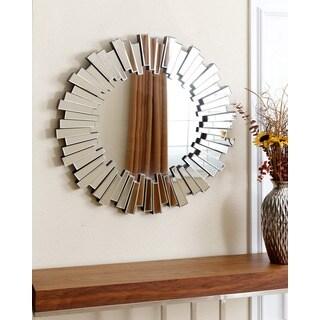 Abbyson Living Avila Round Wall Mirror