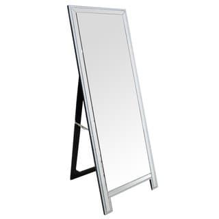 ABBYSON LIVING Venice Rectangle Studded Floor Mirror