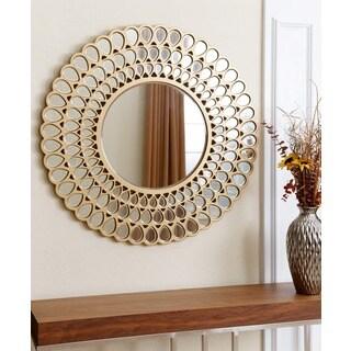 Abbyson Living Jaxon Round Wall Mirror