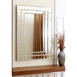 ABBYSON LIVING Colby Rectangle Wall Mirror