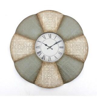 Teton Home 2 WD-015 Metal Wall Clock