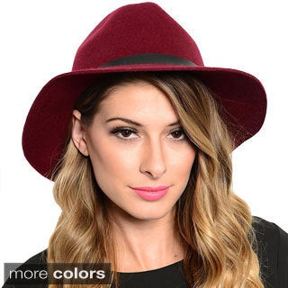 Shop the Trends Women's Chic Fedora Hat