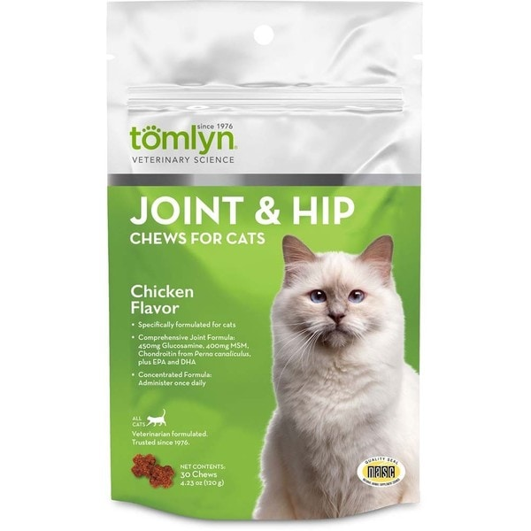 Tomlyn Joint and Hip Chews Cat 4.32-ounce