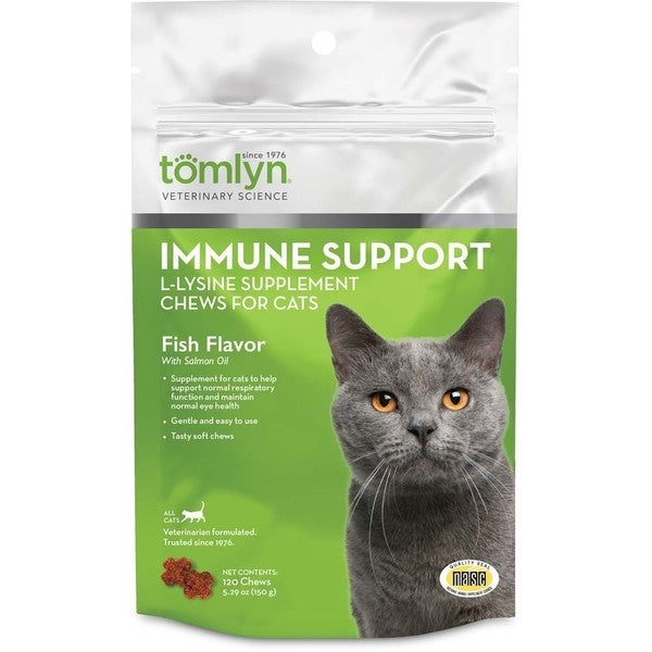 Tomlyn Immune Support L-Lysine Chews (30 Count)